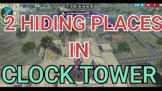 CLOCK TOWER HIDE PLACE IN FREE FIRE ! TOP 10 HIDE PLACE IN BERMUDA ! RANK PUSH TIPSSAMEER HP GAMEER