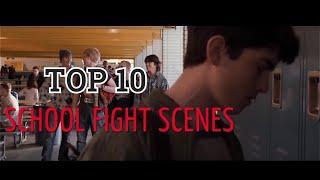 TOP 10  SCHOOL FIGHT SCENES  Satisfya