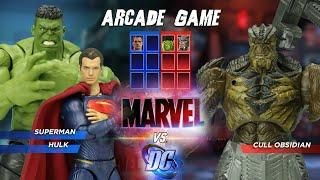 FIGURE Arcade Game Marvel vs DC