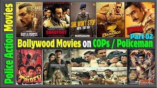 50 Bollywood Cop Movies of All Time | Indian Hindi Police Movies Ever with box office collection.