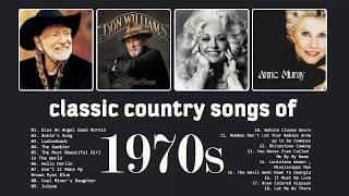 Top Classic Country Songs Of 1970s - Best 70s Country Music Collection - Top Old Country Songs