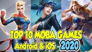Top 10 BEST Mobile MOBA Games for Android and iOS April 2020 | Free to play MOBA games 2020