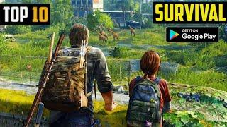 Top 10 SURVIVAL Games for Android in 2020 | HIGH GRAPHICS