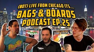 Punchline Key Comic Speculation, Comic Book Stock Options & Rob is Mad Again // Bags and Boards Ep25