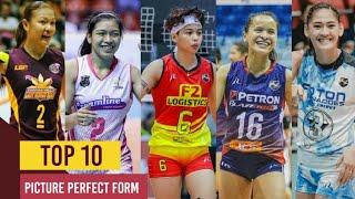Top 10 Best Picture Perfect Form | Philippine Women's Volleyball