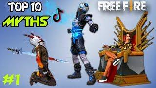 TOP 10 MYTHBUSTERS IN GARENA FREE FIRE
