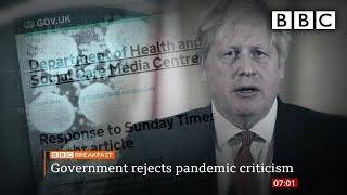 Coronavirus: Top stories this morning - BBC Breakfast | BBC
