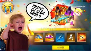 9 Year Boy Ask Me For Dj Alok   Buying 10,000 Diamond & Emote From Store In Subscriber Id Free Fire