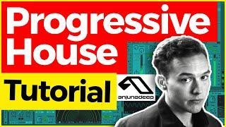 How to make PROGRESSIVE HOUSE (Like BEN BÖHMER, Lane 8 and Anjunadeep) – FREE Ableton Project! ♥