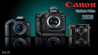 Top 20 Canon DSLR Camera Price in Bangladesh 2020 | 2020 সালের শীর্ষ 20 ক্যানন DSLR ক্যামেরা দাম