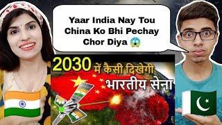 Future Top 10 Weapons of INDIAN ARMY | भारतीय सेना के भविष्य के हथियार 2030| Pakistani Girl Reaction