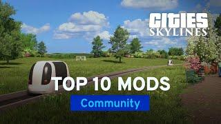 Top 10 Mods and Assets March 2020 with Biffa | Mods of the Month | Cities: Skylines