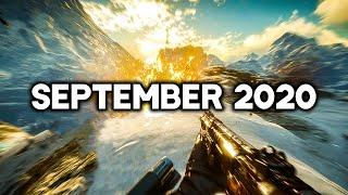 TOP 10 NEW Upcoming Games of September 2020 | PC,PS4,XBOX ONE (4K 60FPS)