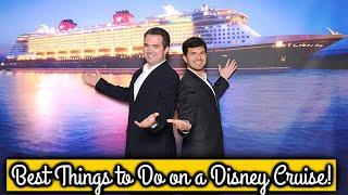 Top 10 Things To Do on a Disney Cruise - Disney Cruise Line VLOG  Discussing Disney Cruise Amenities