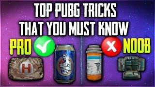 Top 7 tricks of pubg mobile that you must know (part-1) | 2020 top tips and tricks of pubg mobile