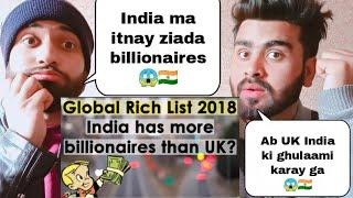 Pakistani reacting on top 10 Country woth most billionaires by |pakistani bros reactions|