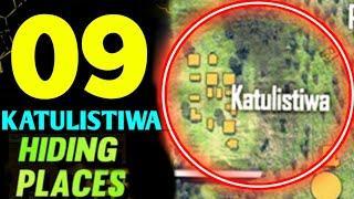 FREE FIRE BERMURDA HIDING PLACE ! TOP 9 HIDE PLACE IN KATULISTIWA ! RANK PUSHING TIPS ! SECRET PLACE