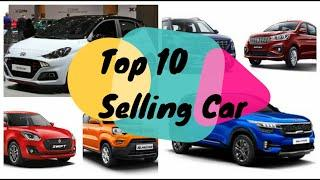 Top 10 Selling Car In last month 2020 in India