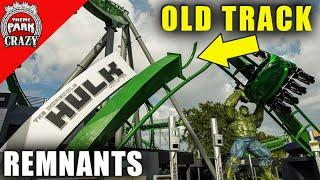 Top 10 Re-Used Roller Coaster Remnants