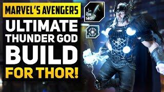Marvel's Avengers Ultimate End Game Build for THOR! (Marvels Avengers Best Builds)
