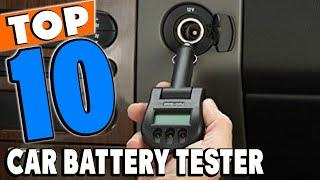 Top 10 Best Car Battery Testers Review in 2021