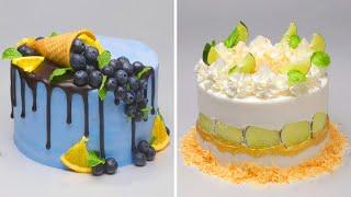 How To Make Cake For Your Coolest Family | 10 Yummy Birthday Cake Hacks | Perfect Cake Recipes