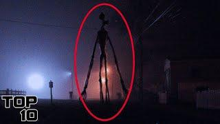Top 10 Scary Sirenhead Real Life Sightings