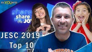 Junior Eurovision 2019 | My Top 10