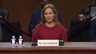 Judge Amy Coney Barrett on the Supreme Court nomination: Process has been 'excruciating'