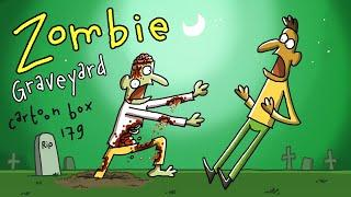 Zombie Graveyard | Cartoon Box 179 | by FRAME ORDER | hilarious zombie cartoon