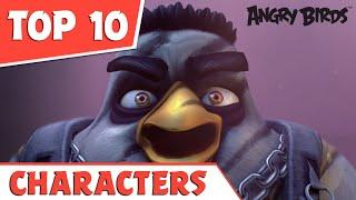 Top 10 | Angry Birds Characters