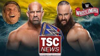 Strowman vs Goldberg Booked for WrestleMania in LAZIEST Way