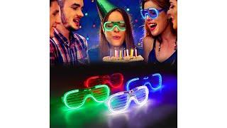 Best Top 10 LED Light Up Party Glasses For 2020 | Top Rated Light Up Party Glasses