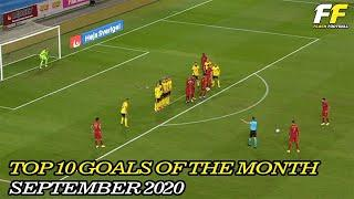 TOP 10 GOAL OF THE MONTH - SEPTEMBER 2020