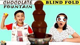 CHOCOLATE FOUNTAIN CHALLENGE 2 | Eating Challenge #FONDUE #Funny #Kids Aayu and Pihu Show