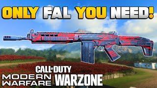 Huge Buff & How to Make the Best Possible FAL Class Setup for WARZONE   Modern Warfare BR   JGOD