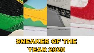 2020 TOP 10 SNEAKER OF THE YEAR