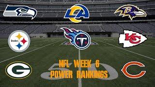 Top 10 NFL Power Rankings Week 6
