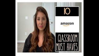 AMAZON CLASSROOM MUST HAVES| Top 10 Things Teachers Need in their Classroom