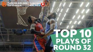 Turkish Airlines EuroLeague Regular Season Round 32 Top 10 Plays