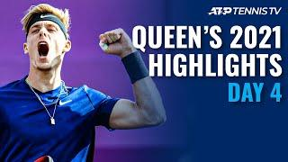 Shapovalov takes on Lopez: Murray faces Berrettini   Queen's 2021 Highlights Day 4