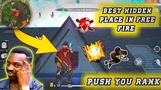 New Top 5 Secret Hiding Place in Garena Free fire || FREE FIRE TOP 5 SECRET LOCATION AFTER UPDATE