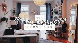 Großes DIY & Second Hand ROOM MAKEOVER aka Umzugsvlog + ROOMTOUR! (Pinterest inspiriert)