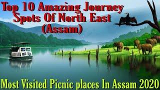 Top 10 Amazing Journey (Picnic) place North East Assam// Top 10 most amazing picnic place in Assam
