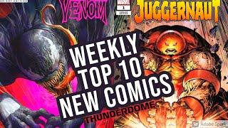 TOP 10 NEW KEY COMICS TO BUY FOR SEPTEMBER 23RD 2020 - NEW COMIC BOOKS REVIEWS THIS WEEK - MARVEL DC
