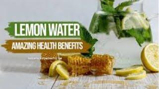 TOP 10 BENEFITS OF DRINKING LEMON WATER
