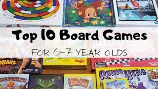 Top 10 Board Games for 6-7 year olds