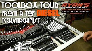 TOOLBOX TOUR FROM A TOP DIESEL TECH - RYAN'S DIESEL SERVICE