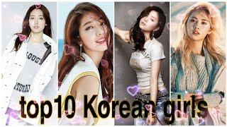 Top10 Korean girl | hot, beautiful, sexy & cute | actress, model, singer