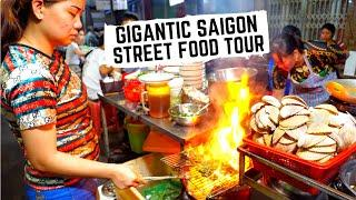 UNREAL STREET FOOD in Vietnam | Vietnamese SEAFOOD feast | Best street food in Ho Chi Minh City